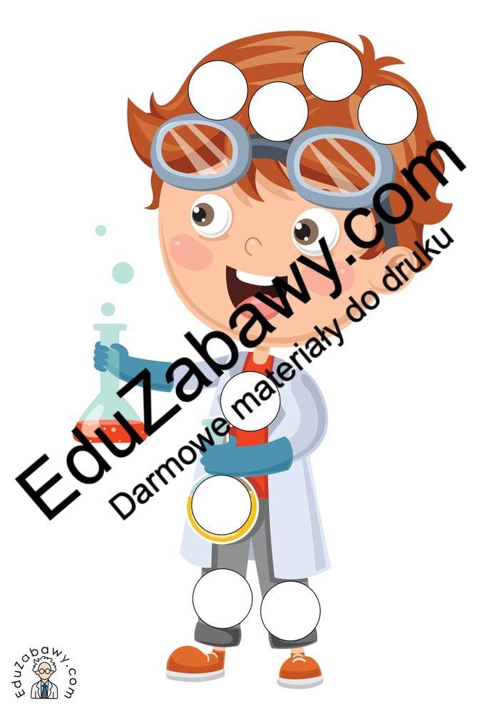 Dzień Chemika: Wypełnij kolorem (10 kart pracy) Dzień Chemika Karty pracy Wypełnij kolorem