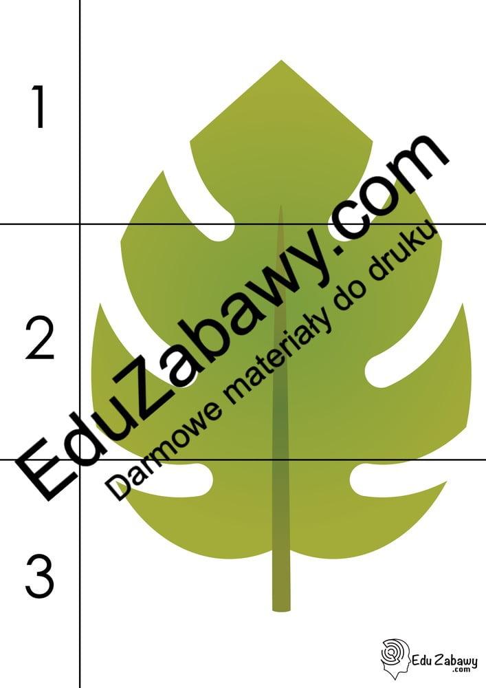 Jesień: Puzzle 3 elementy (10 kart pracy) Jesień Karty pracy Karty pracy (Jesień) Puzzle