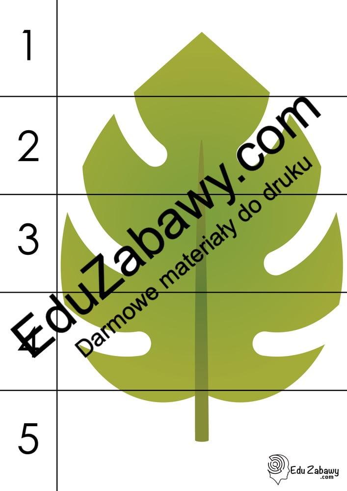 Jesień: Puzzle 5 elementów (9 kart pracy) Jesień Karty pracy Karty pracy (Jesień) Puzzle