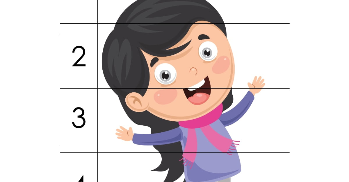 Jesień: Puzzle 5 elementów (9 kart pracy)