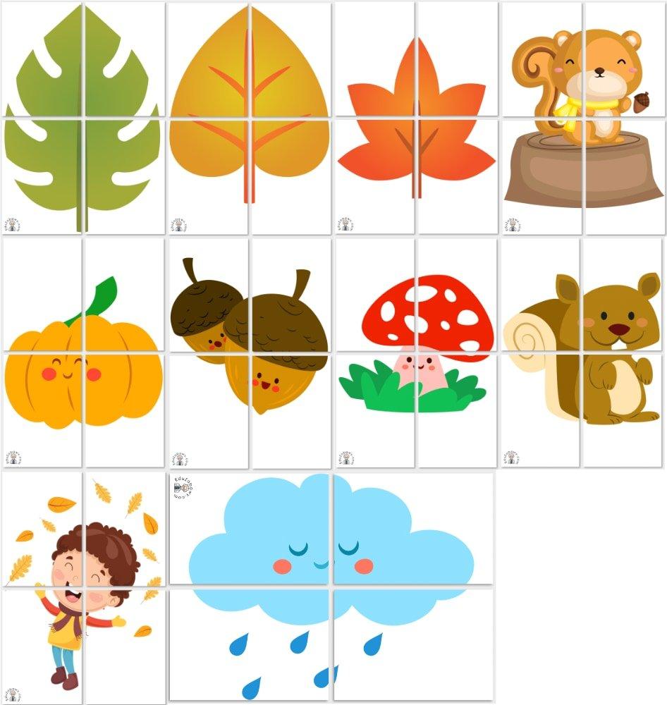 Jesień: Dekoracje XXL (10 szablonów) Dekoracje Dekoracje (Jesień) Jesień