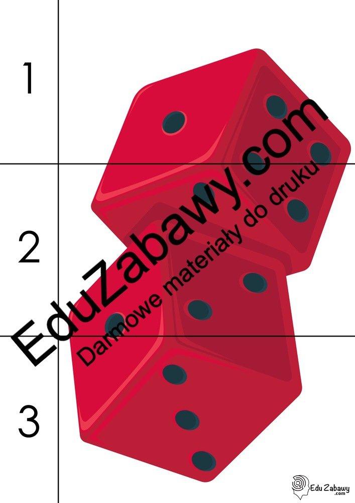 Andrzejki: Puzzle 3 elementy (10 kart pracy) Andrzejki Karty pracy Karty pracy (Andrzejki) Puzzle