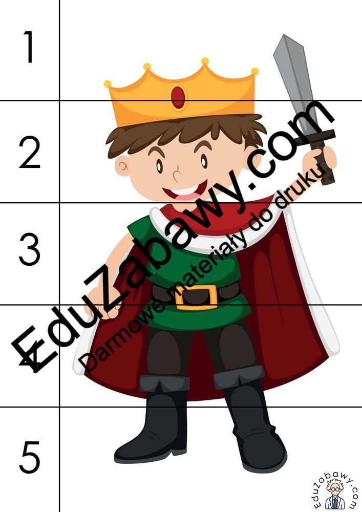 Dzień postaci z bajek: Puzzle 5 elementów (10 kart pracy) Dzień postaci z bajek Karty pracy Karty pracy (Dzień Postaci z Bajek) Puzzle