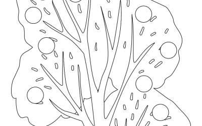 Dzień Drzewa: Wyklejanki (10 kart pracy)