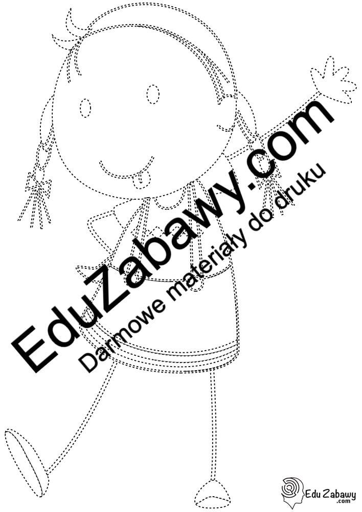 Dzień Dziewczynek: Grafomotoryka (10 kart pracy) Dzień Dziewczynek Grafomotoryka Karty pracy Karty pracy (Dzień Dziewczynek)