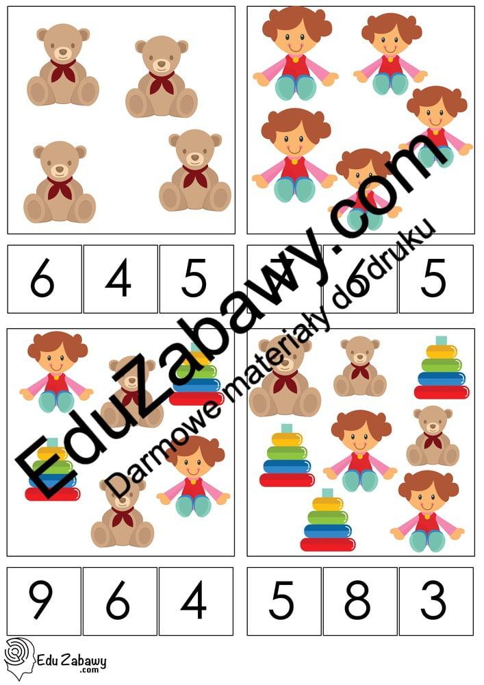 Dzień Dziewczynek: Matematyka klamerkowa (40 kart pracy) Dzień Dziewczynek Karty pracy Karty pracy (Dzień Dziewczynek) Matematyka klamerkowa