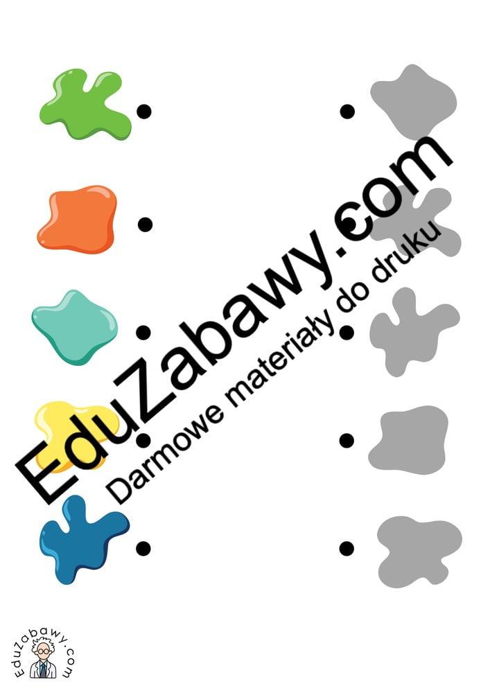 Dzień Kredki: Dopasuj cienie (10 kart pracy) Dopasuj cienie Dzień Kredki Karty pracy Karty pracy (Dzień kredki)