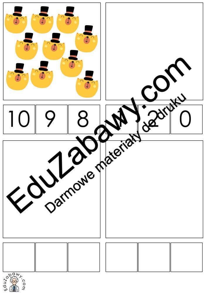 Dzień Misia: Matematyka klamerkowa (40 kart pracy) Dzień Pluszowego Misia Karty pracy Karty pracy (Dzień Misia) Matematyka klamerkowa