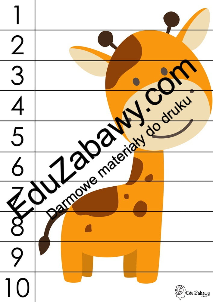 Dzień Zwierząt: Puzzle 10 elementów (10 kart pracy) Karty pracy Karty pracy (Dzień Zwierząt) Puzzle Światowy Dzień Zwierząt