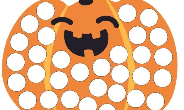 Halloween: Wypełnij kolorem (10 kart pracy)