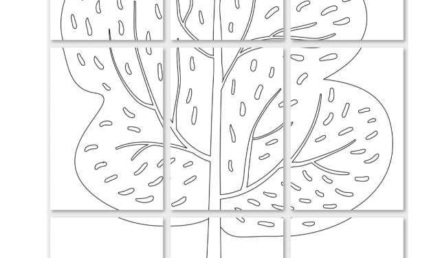Dzień Drzewa: Kolorowanki XXL (10 szablonów)