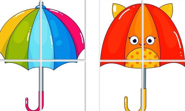 Dekoracje XXL: Parasolki (10 szablonów)