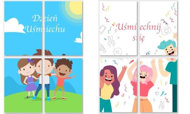 Dzień Uśmiechu: Plakaty XXL