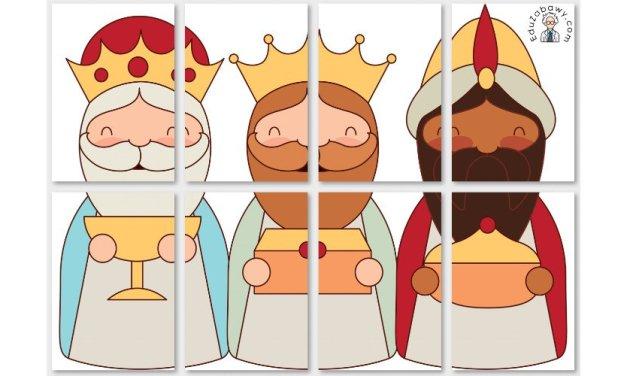Dekoracje XXL: Trzech Króli
