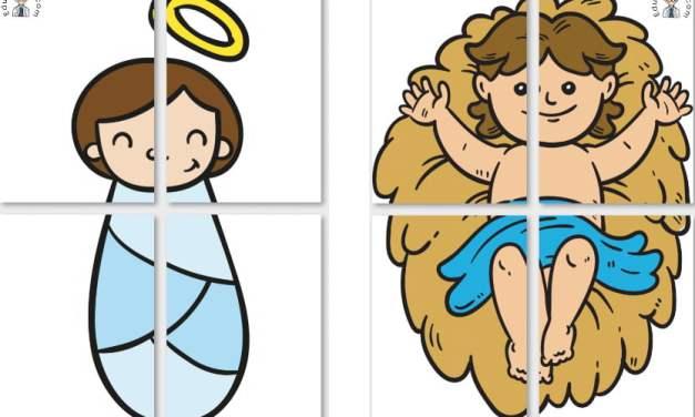 Dekoracje XXL: Dzieciątko Jezus