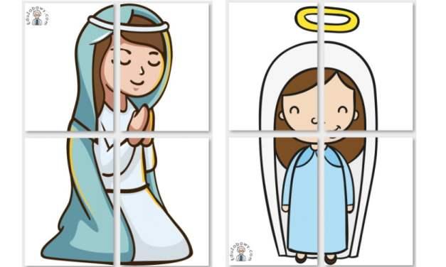Dekoracje XXL: św. Maria