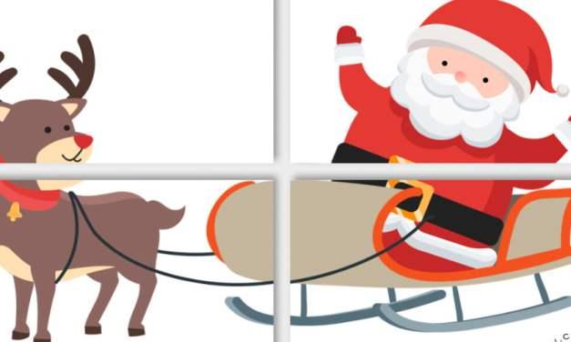 Dekoracje XXL: Święty Mikołaj