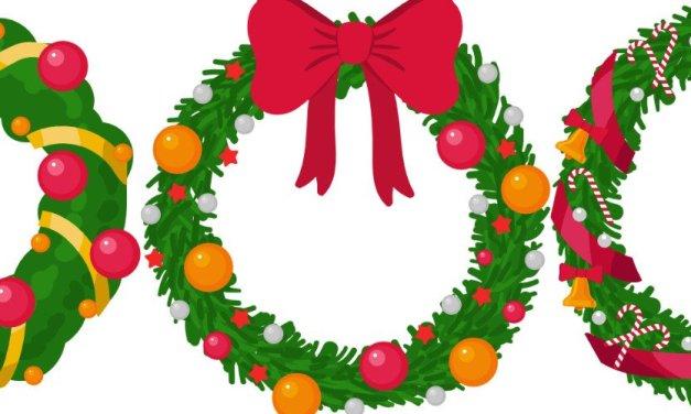 Dekoracje: Stroik świąteczny