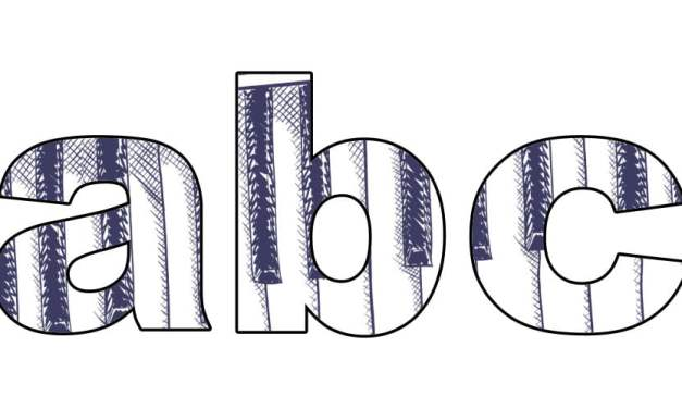 Pianino: litery małe
