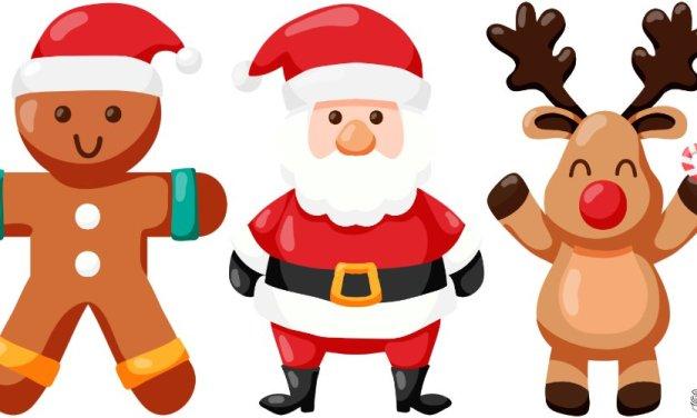Boże Narodzenie: Dekoracje (32 szablony)
