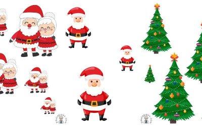 Boże Narodzenie: Uszereguj (10 szablonów)