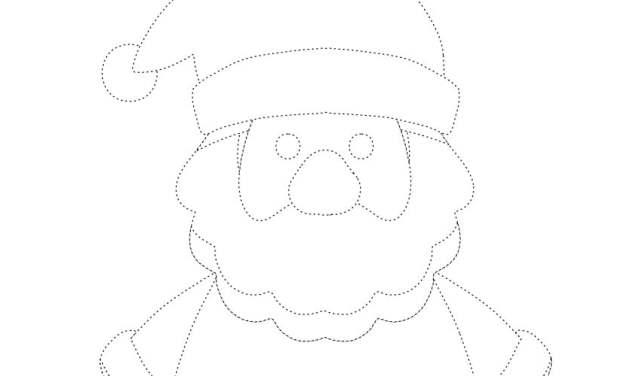 Boże Narodzenie: Grafomotoryka (14 szablonów)