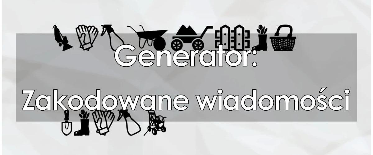 Generator zakodowanych wiadomości