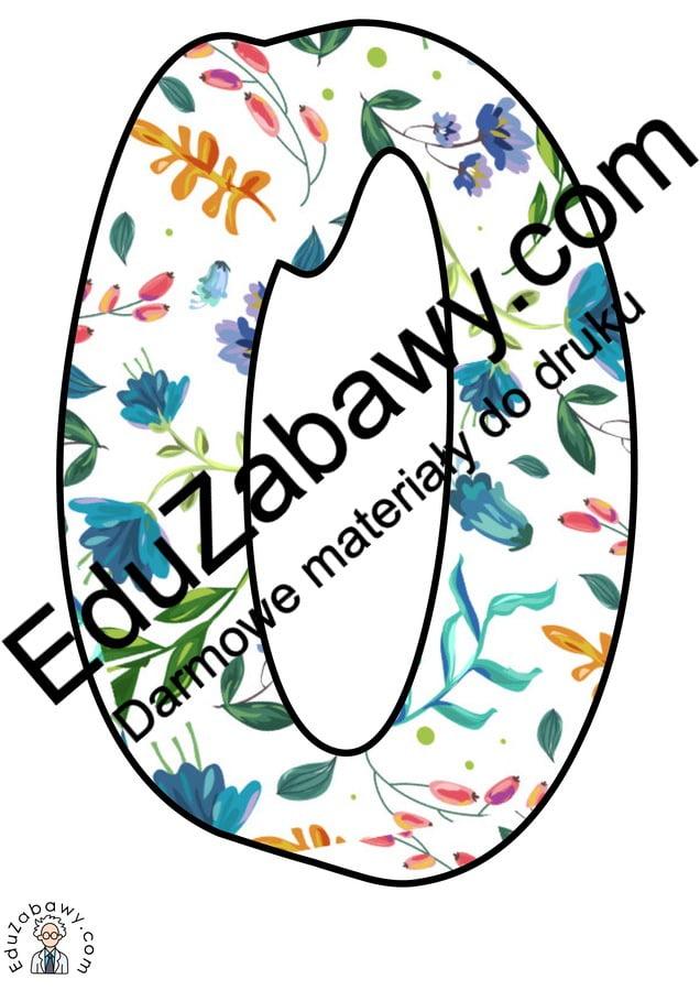 Napis Kochana Babciu w kwiaty Dzień Babci i Dziadka Napisy (Dzień Babci i Dziadka)