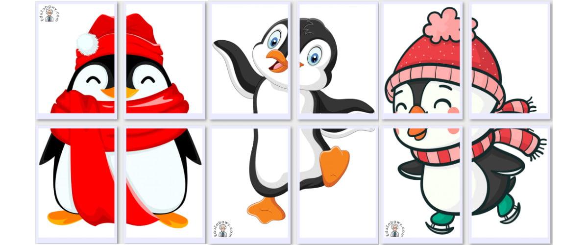 Dekoracje XXL: Pingwiny