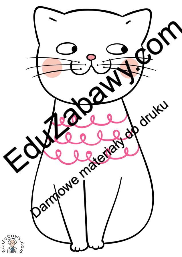 Dekoracje: Kot Dekoracje (Dzień Kota) Kalendarz świąt Luty Światowy Dzień Kota