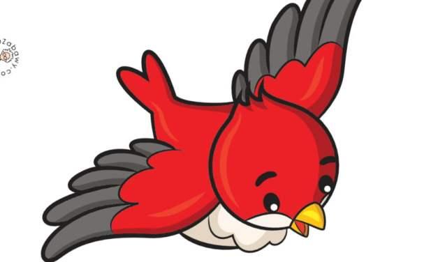 Dekoracje: Ptaki (10 szablonów)