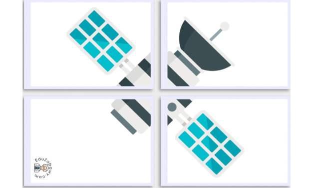 Dekoracje XXL: Satelity (10 szablonów)