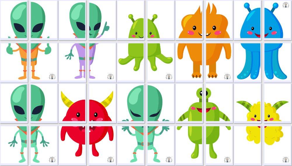 Dekoracje XXL: Ufoludki (10 szablonów) Dekoracje Dekoracje (Dzień Astronomii) Dzień Astronomii