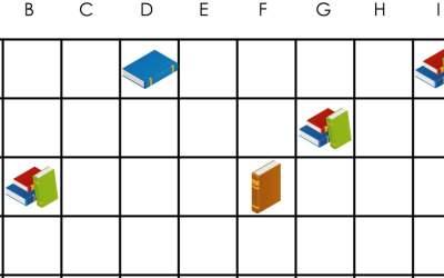 Dzień Książki: Kodowanie – Statki (10 kart pracy)