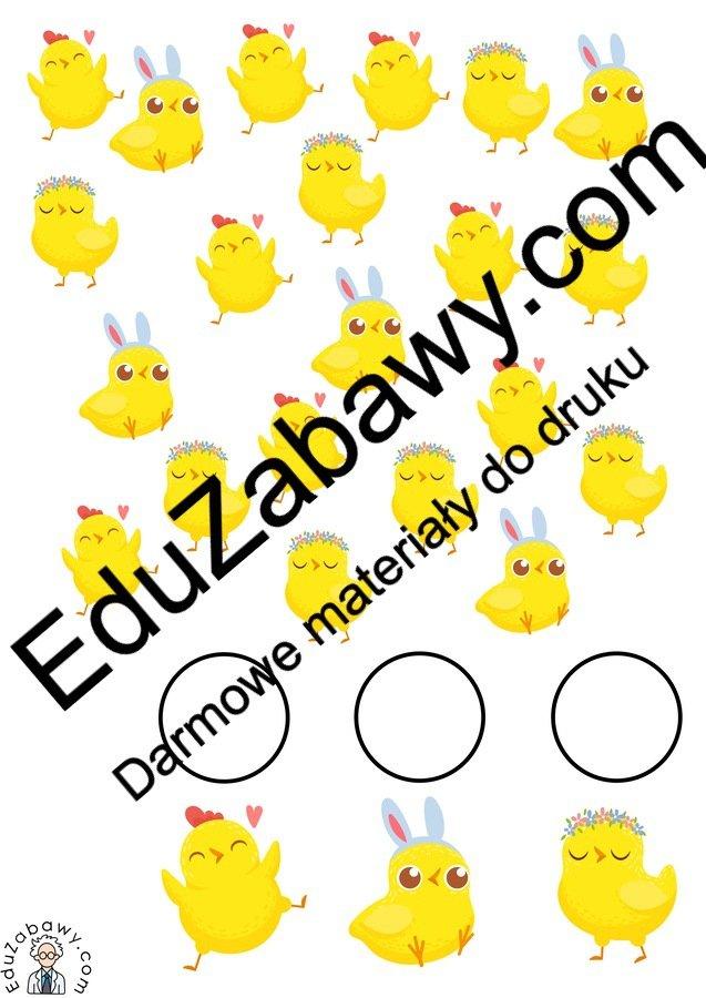 Wielkanoc: Bystre oczko (10 kart pracy) Bystre oczko Karty pracy Karty pracy (Wielkanoc) Wielkanoc