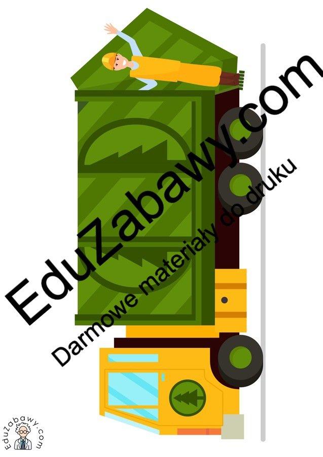 Dekoracje: Śmieciarka (10 szablonów) Dekoracje Dekoracje (Dzień Ziemi) Dzień Ziemi