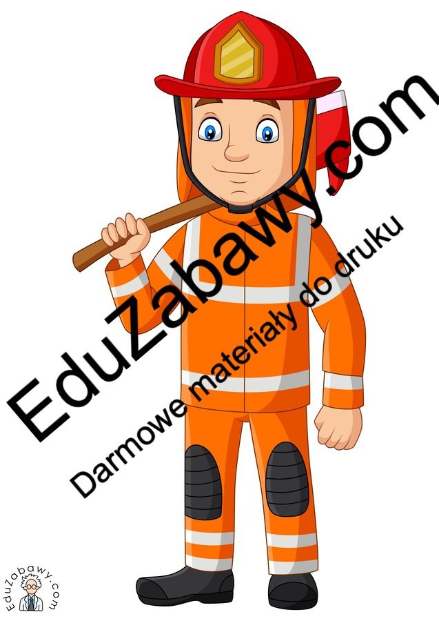 Dekoracje: Strażak (10 szablonów) Dekoracje Dekoracje (Dzień Strażaka) Dzień Strażaka