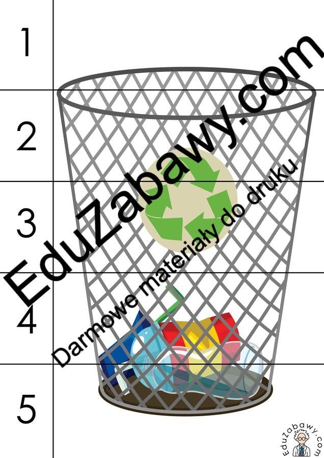 Dzień Ziemi: Puzzle 5 elementów (10 kart pracy) Dzień Ziemi Karty pracy Karty pracy (Dzień Ziemi) Puzzle