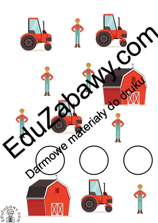 Na wsi: Bystre oczko (10 kart pracy) Bystre oczko Karty pracy Karty pracy (Na wsi) Na wsi