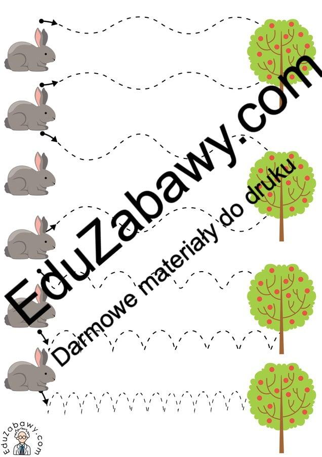 Na wsi: Szlaczki (10 kart pracy) Karty pracy Karty pracy (Na wsi) Na wsi Szlaczki