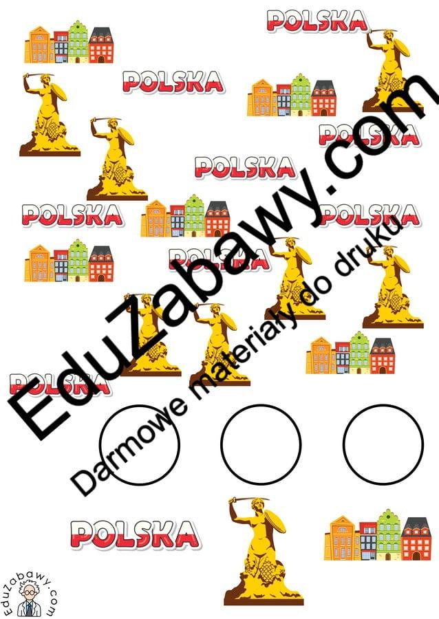 Patriotyczne Bystre oczko (10 kart pracy) 3 maja Bystre oczko Karty pracy Karty pracy (3 maja)