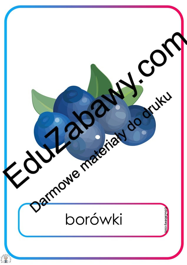 Plansze dydaktyczne: owoce (13 plansz) Na wsi Plansze dydaktyczne Plansze dydaktyczne (Na wsi)