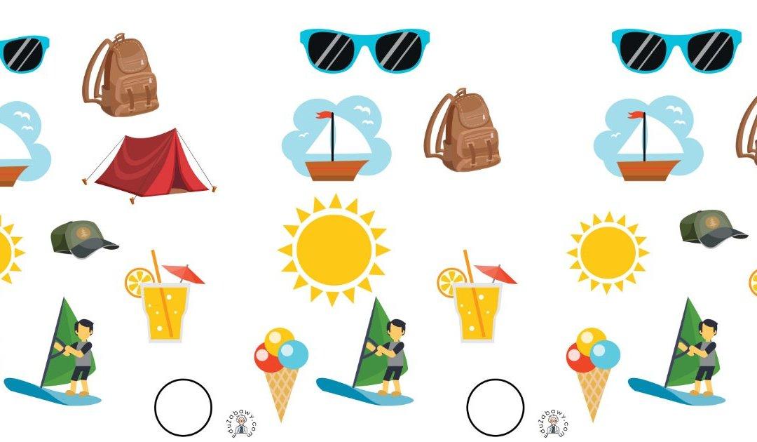 Lato: Nauka liczenia (10 kart pracy)