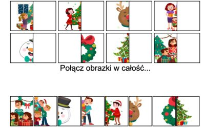 Gra online: Połącz obrazki: Boże Narodzenie