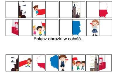 Gra online: Połącz obrazki: Patriotyczne