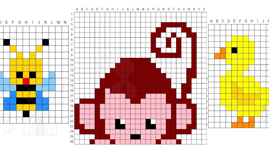 Kodowanie / Dyktando graficzne: Zwierzęta