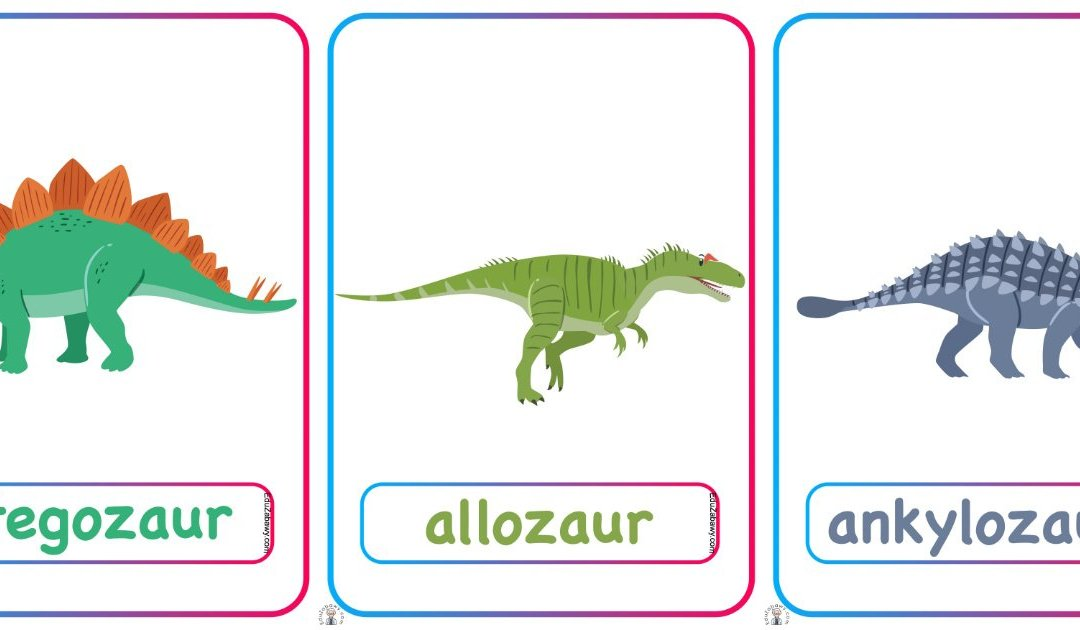 Plansze dydaktyczne: Dinozaury