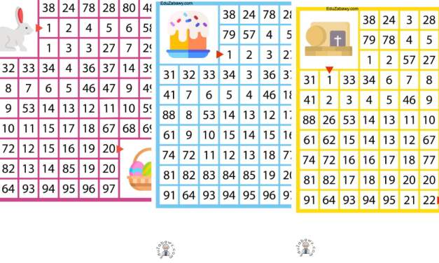 Labirynty matematyczne: Wielkanoc