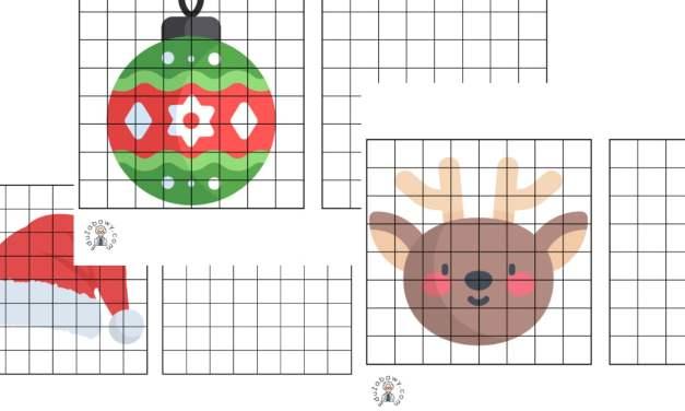 Przerysuj obrazek: Boże Narodzenie