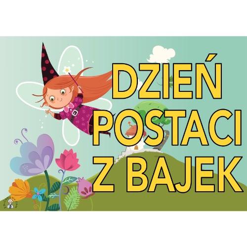 Plakat na Dzień Postaci z Bajek A4 i XXL 5 Dzień postaci z bajek Plakaty (Dzień postaci z bajek)